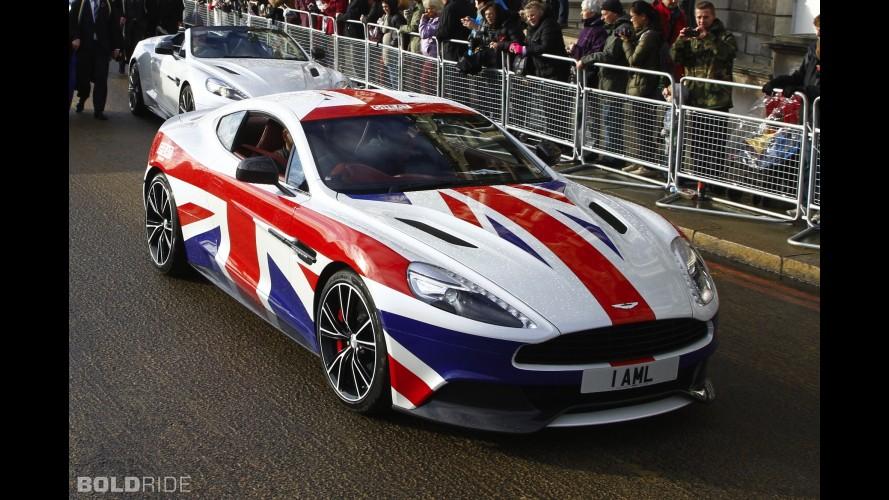 Aston Martin Vanquish Union Jack