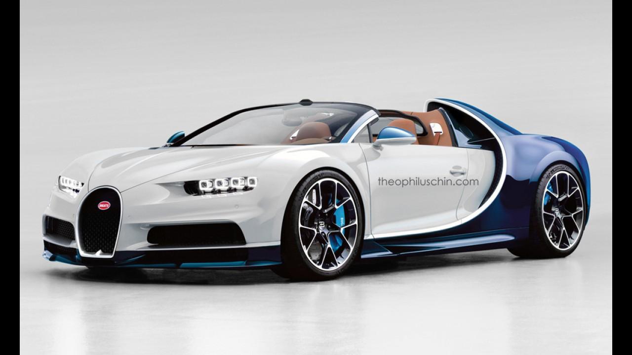 Bugatti Chiron Grand Sport böyle görünebilir