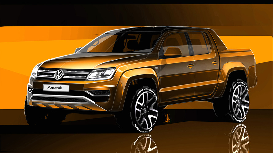 2016 VW Amarok facelift teased