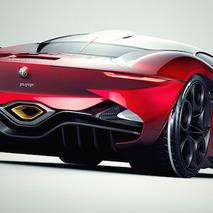 Alfa Romeo Furia Concept Envisions an Italian Supercar Unlike Any Other