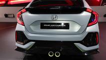 Honda Civic Hatchback Concept live in Geneva