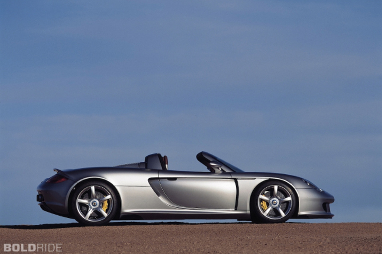 Porsche Carrera GT Abandoned in Canada?