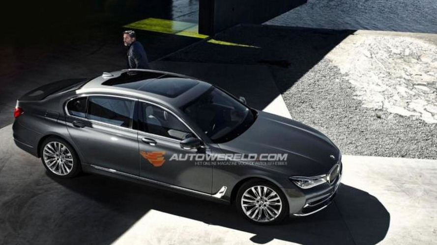 Fully revealing official images of 2016 BMW 7-Series emerge ahead of tonight's reveal