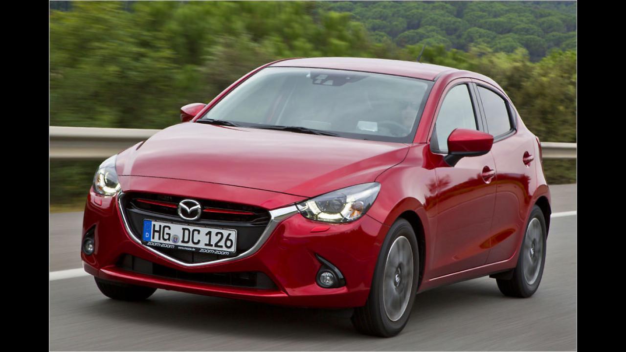 Top: Mazda 2