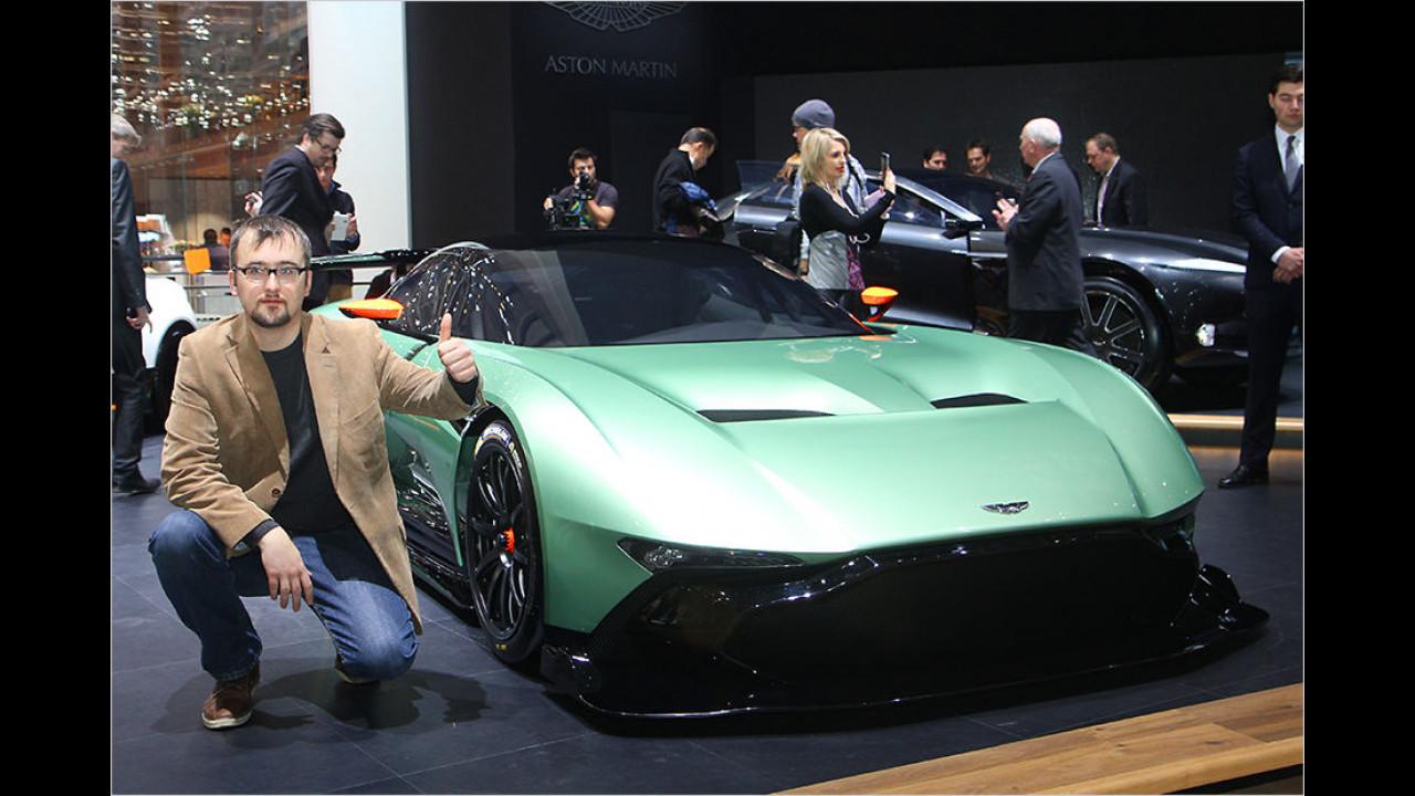 Top: Aston Martin Vulcan