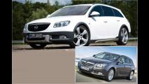 Ein Opel auf Abwegen