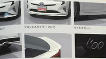 2016 Toyota Prius with TRD goodies leaks out early