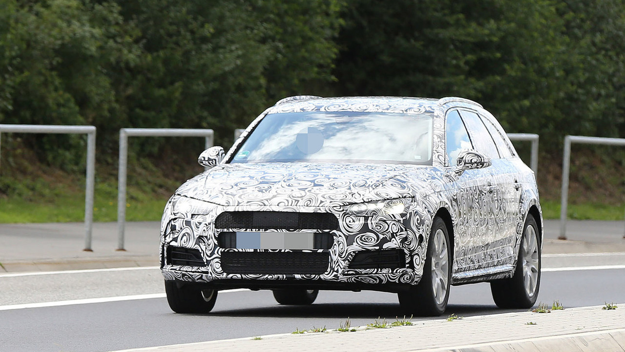 2016 Audi A4 Avant Allroad spy photo