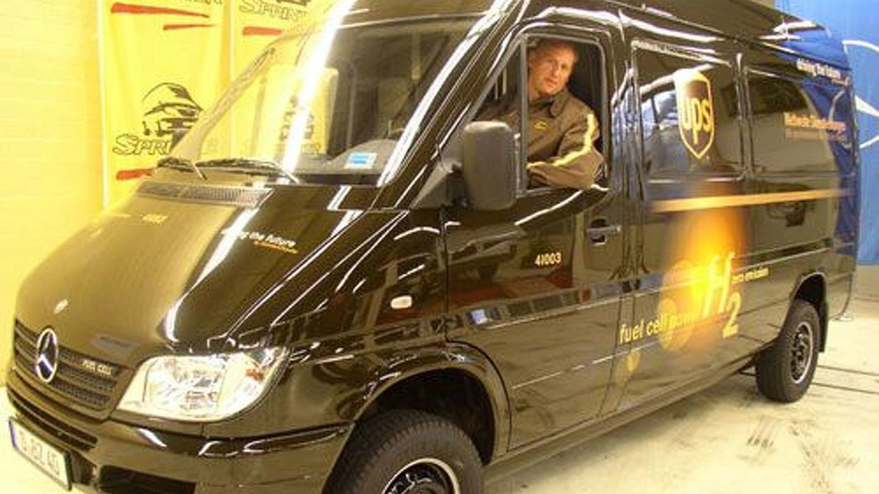 DC Sprinter for UPS
