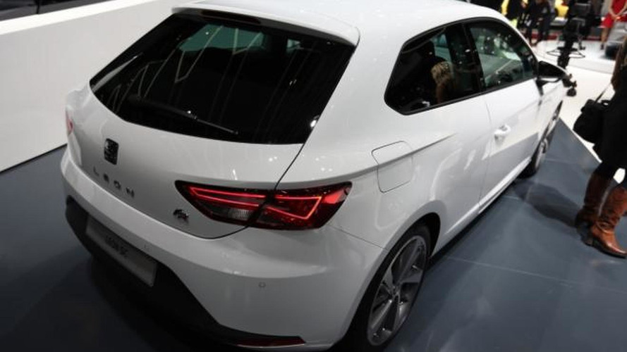 2013 Seat Leon SC publicly revealed in Geneva