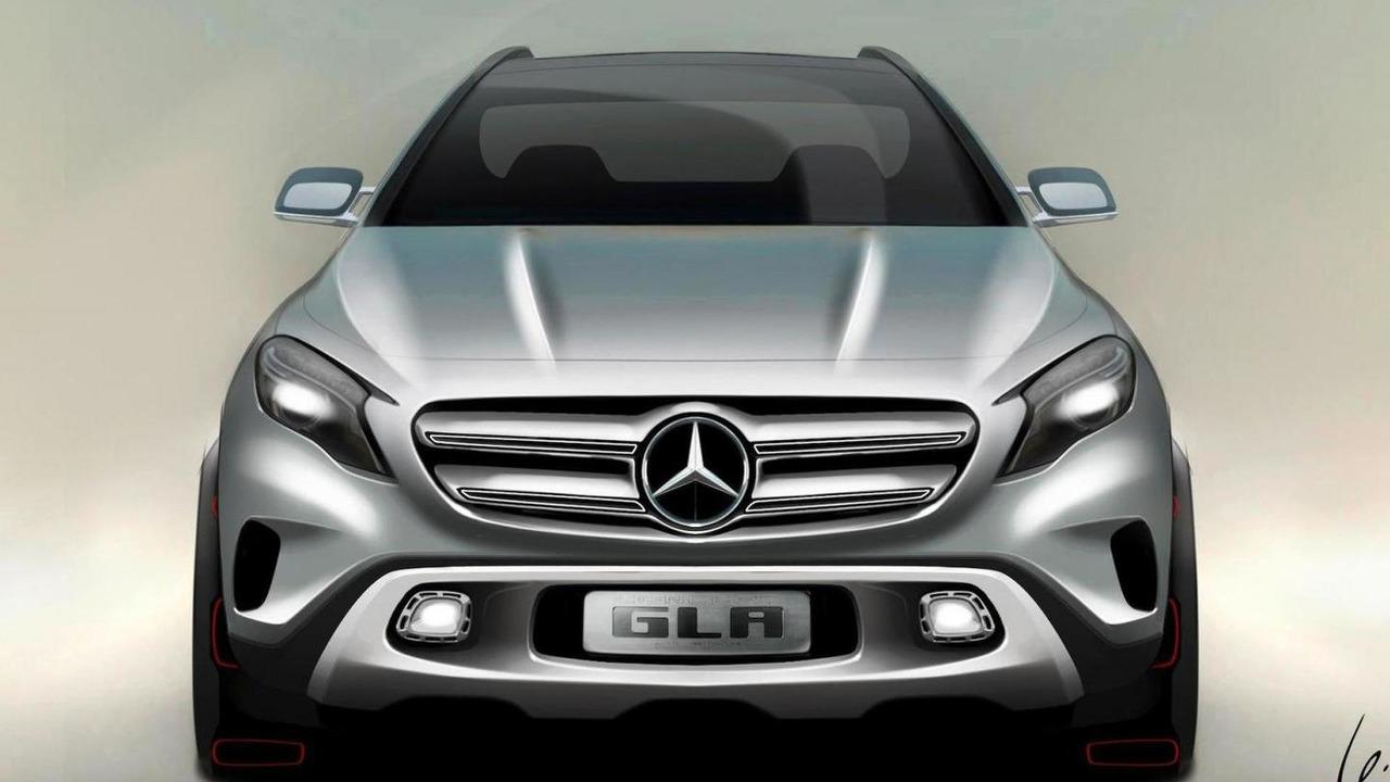 Mercedes-Benz GLA Concept sketch