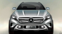 Mercedes-Benz GLA Concept sketch