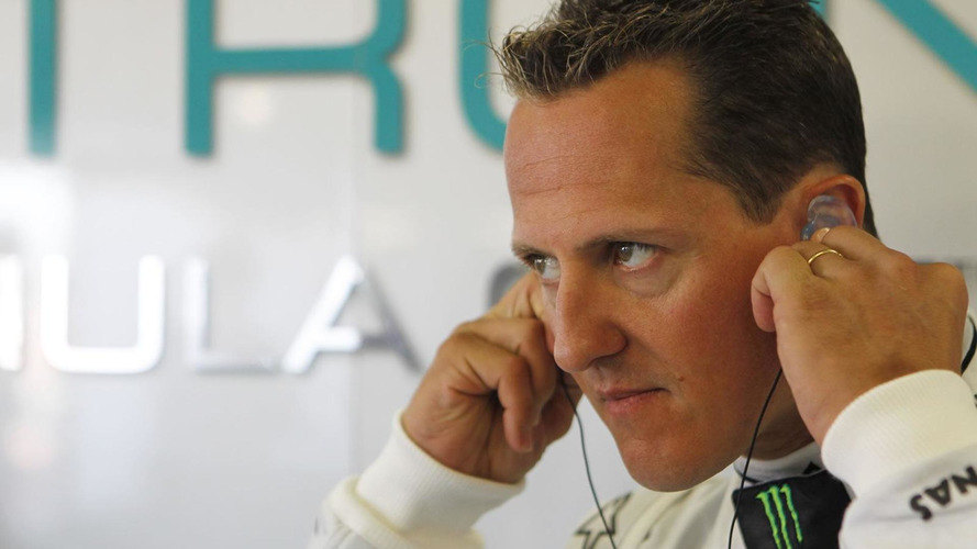 Police enforcing calm around Schumacher home