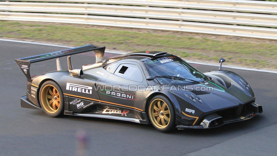 Pagani Zonda R sets new unofficial Nurburgring record - live photos