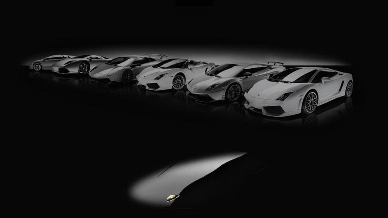 Lamborghini Jota teased in coming soon image
