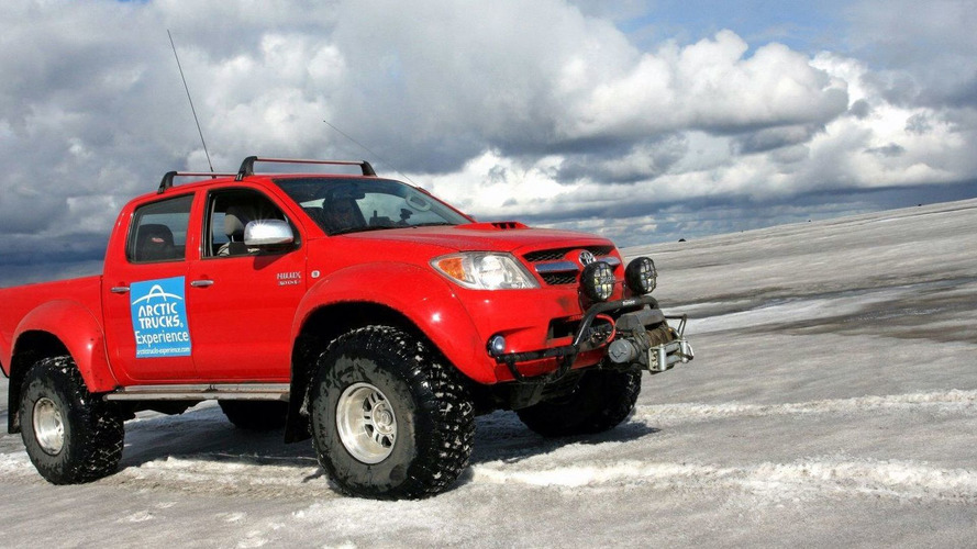 Toyota Hilux Invincible Double Cabs Available for Ice Trekking