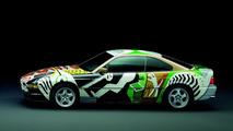 David Hockney (GB) 1995 BMW 850CSi art car
