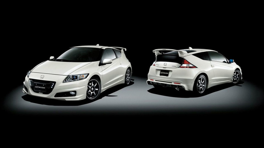 Honda CR-Z Hybrid Coupe Receives MUGEN Styling Treatment