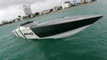 Mercedes SLS AMG Inspired Cigarette Racing Boat - 29.07.2010