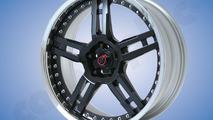 Cargraphic three-piece GT-R 21-inch rims 21.07.2010