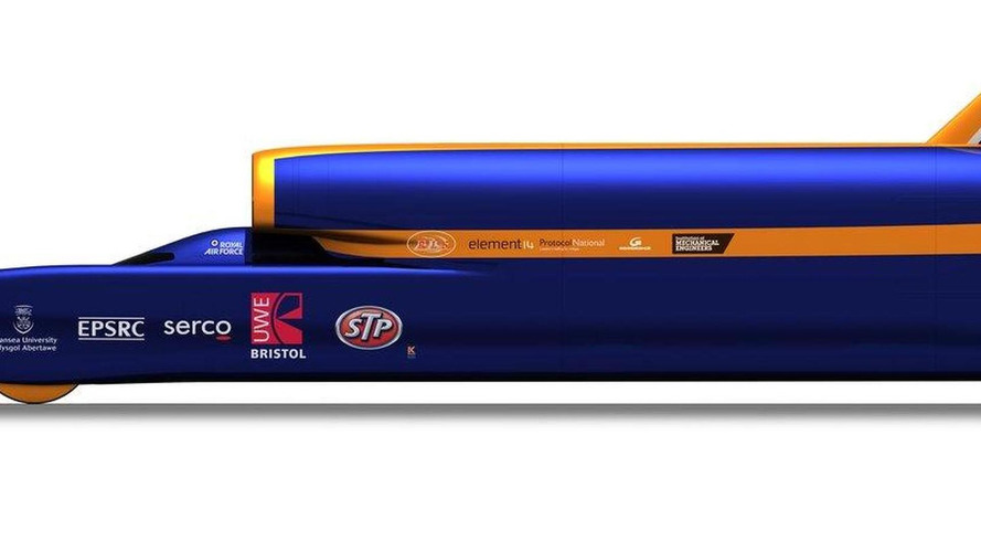 1000mph Bloodhound SSC full size show car world debut