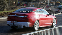 Jaguar XF-R Spied Just Ahead of Probable Detroit Debut
