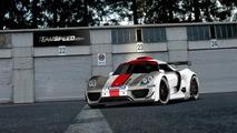 Porsche 918 Coupe racecar artist rendering in standard livery, 1024, 31.12.2010