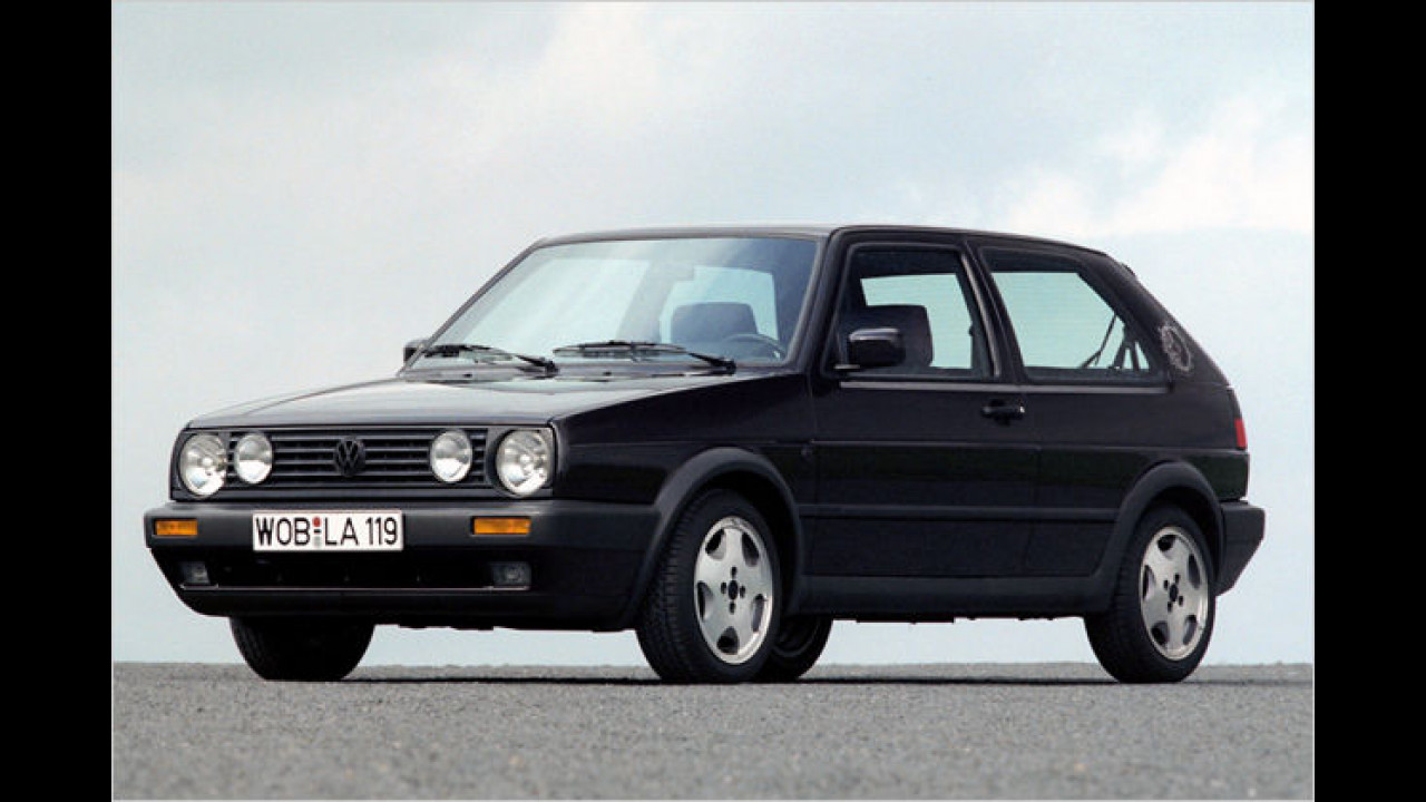 VW Golf II ,Fire and Ice