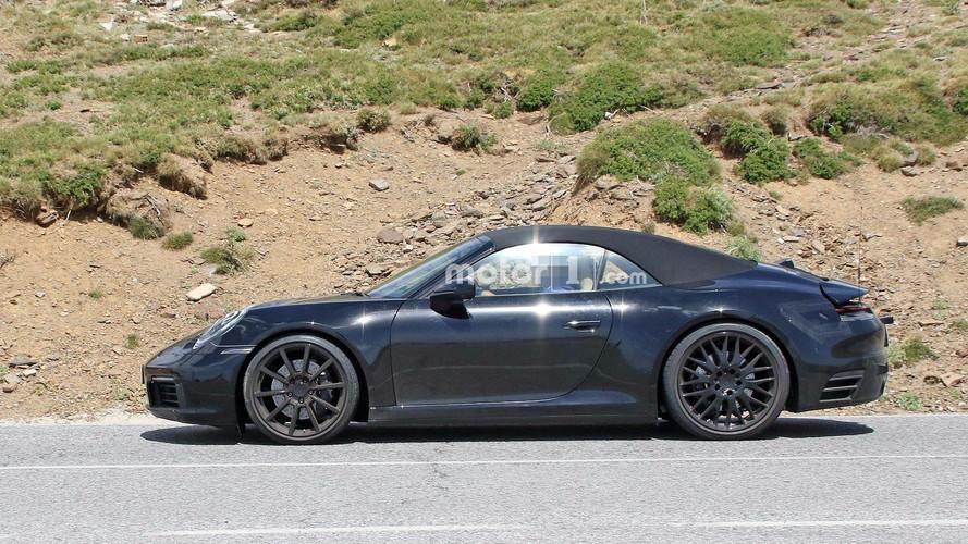 Yeni Porsche 911 Cabriolet kameralara yakalandı