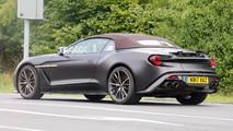 Aston Martin Vanquish Zagato Volante Fotos espía