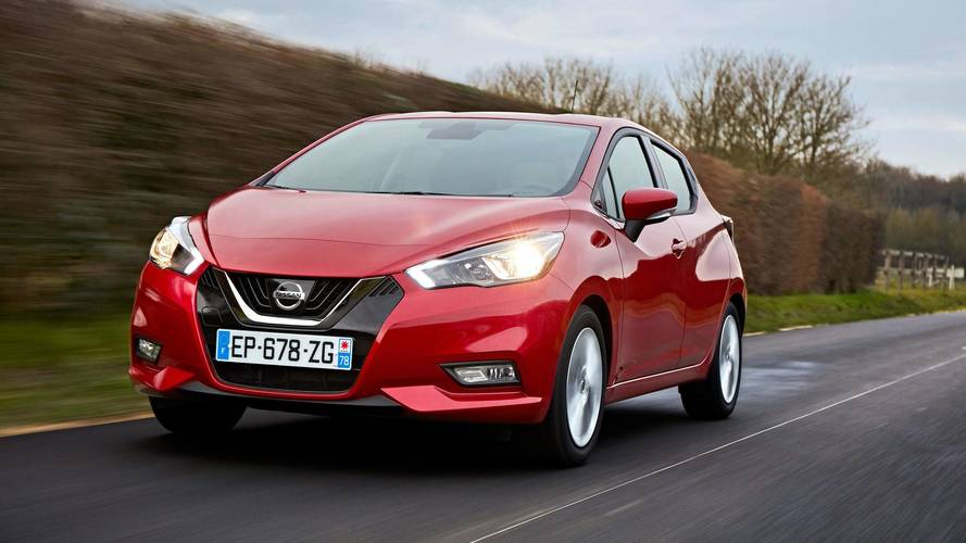 2017 nissan micra 1 0 71 first drive decent second car. Black Bedroom Furniture Sets. Home Design Ideas