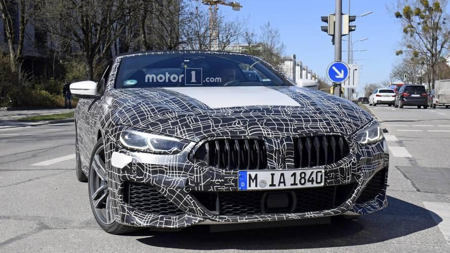 Yeni BMW 8 Serisi Coupe ve Convertible yakalandı