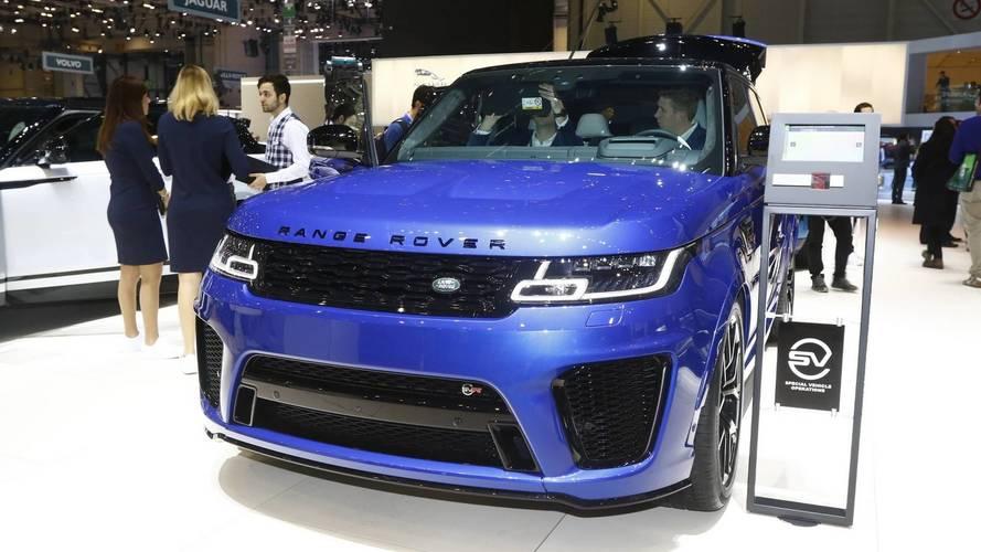 Land Rover al Salone di Ginevra 2018