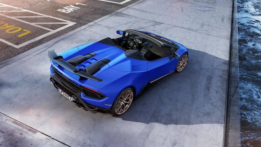 Geneva Motor Show: Lamborghini Huracan Performante Spyder Unveiled - Specs, Features & Images