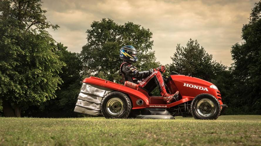Honda Has Created A Lawnmower With A Top Speed Over 190 KM/H