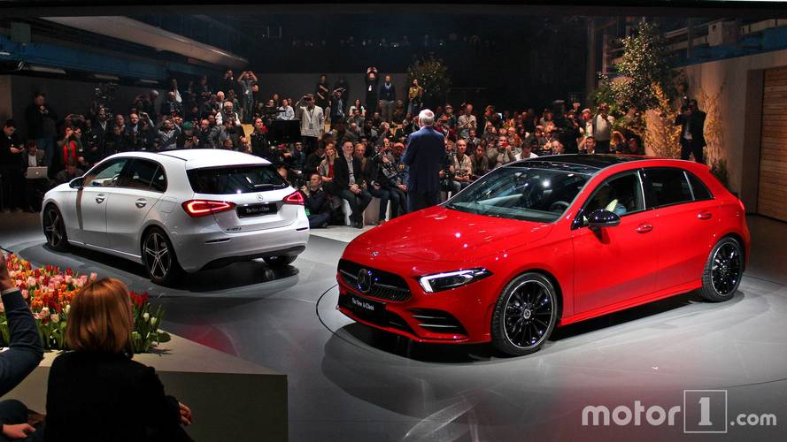 Nouvelle Mercedes Classe A - Nos photos de la présentation officielle