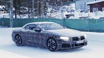 BMW 8 Series Convertible spy photo