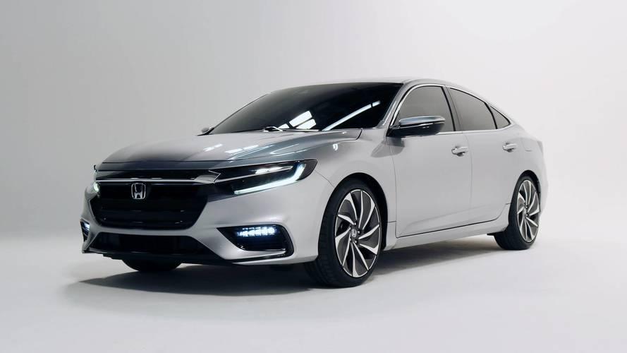 Honda Insight Prototype, adelanto de un híbrido