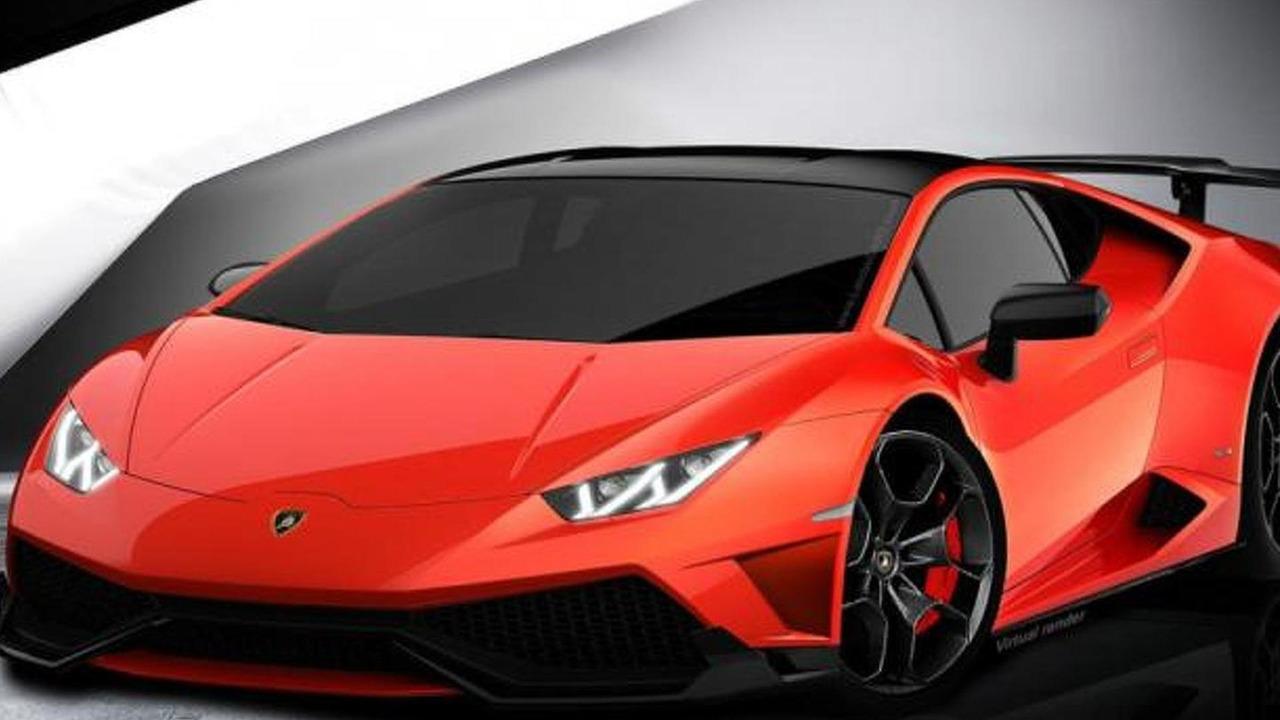 Lamborghini Huracan Superleggera render