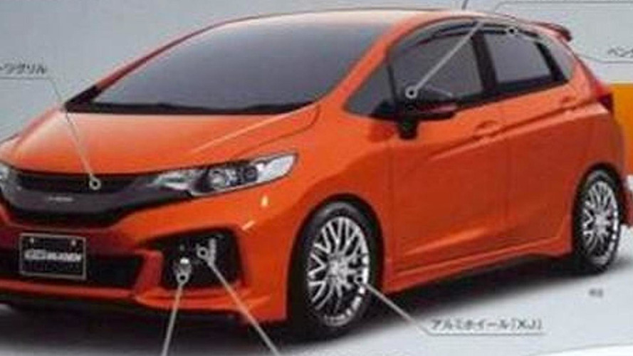 2014 Honda Jazz/Fit Mugen leaked