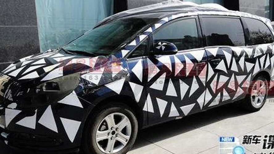 2011 Buick GL8 Minivan Spied in China