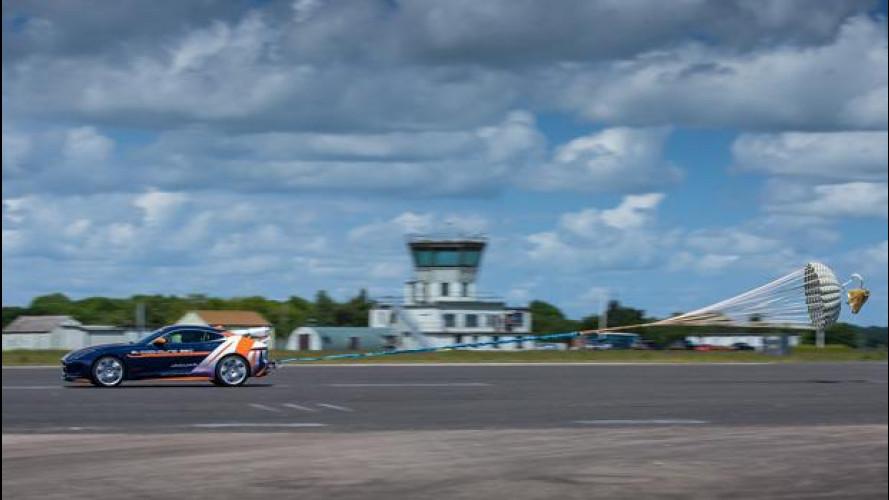 Jaguar F-Type in corsa per il record di velocità terrestre