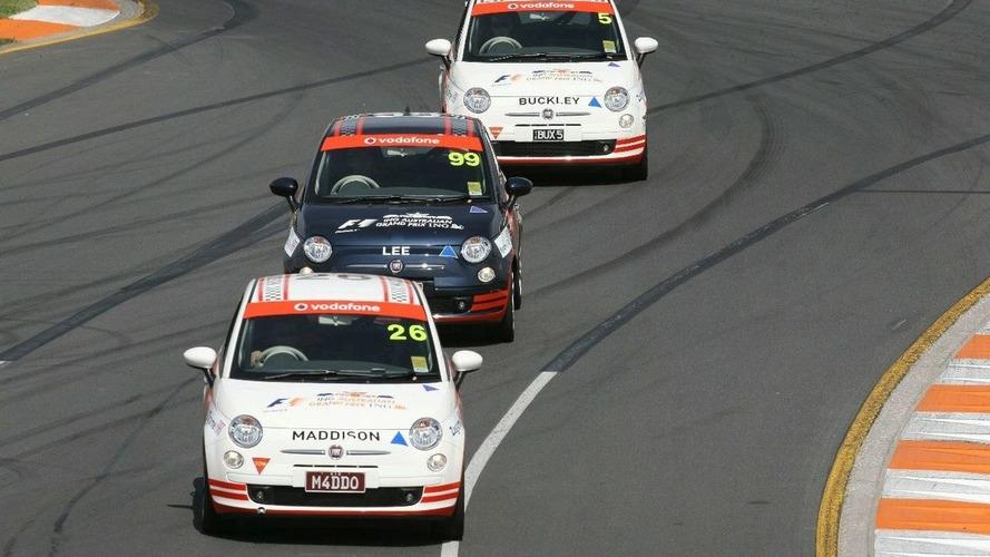 Fiat 500 Celebrity Race at Australian GP