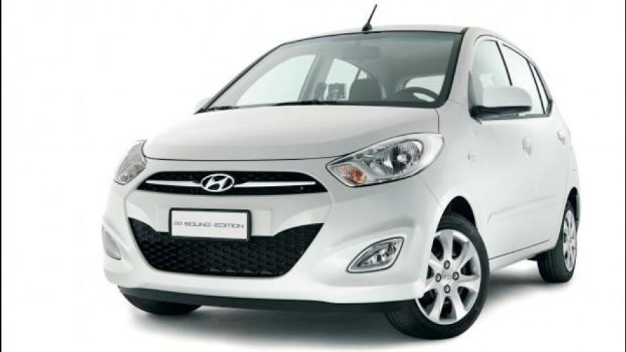 Hyundai i10 Blue Drive GPL