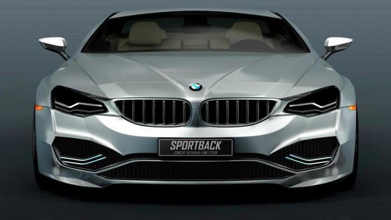 BMW Sportback Concept rendering / CVKDesign