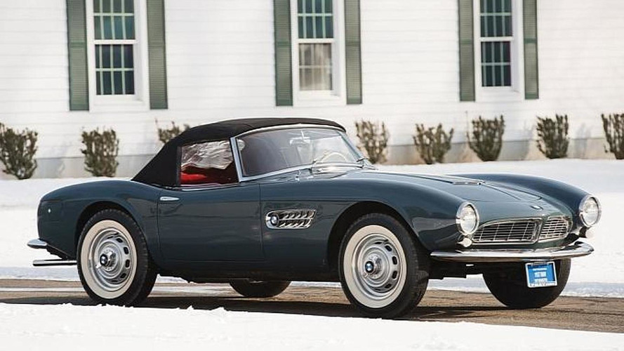 Mint 1958 BMW 507 Series II Roadster sold for $2.4 million at Amelia