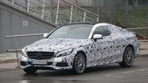 2016 Mercedes C-Class Coupe spy photo