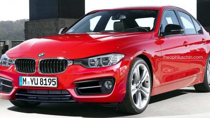 BMW 3-Series facelift render shows minor cosmetic tweaks
