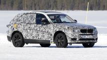 2017 BMW X3 spy photo