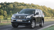 2015 Toyota Land Cruiser with 2.8-liter D-4D engine (UK-spec)